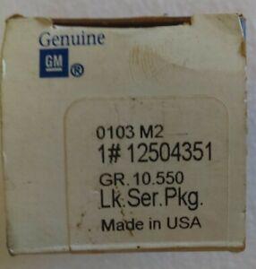 NOS GM Illuminated Entry Key Hole Door Lock Cylinder Cadillac Buick 12504351