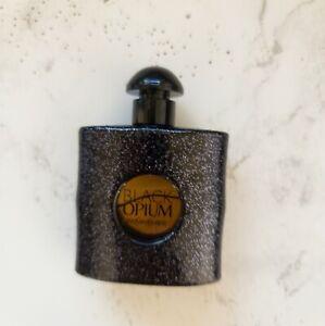 YSL BLACK OPIUM Eau De Parfum Splash Perfume Bottle Mini Travel SZ 7.5mL NWOB
