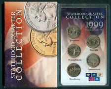 1999-P U.S. STATEHOOD QUARTER COLLECTION 5-Quarters UNC Coins