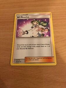 Pokemon Card N's Resolve 200/236 Inc Free Card Deal