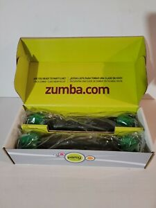 Zumba 1 lb Toning Sticks Shaker Weights (Set of 2) New In Box.