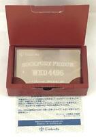 """ BIOHAZARD CODE VERONICA METAL ID CARD "" RESIDENT EVIL LIMITED CAPCOM -2"