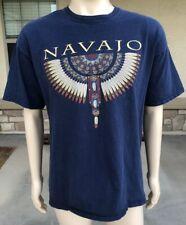 Vintage 90s Navajo Tribal Dreamcatcher T Shirt USA Made Size XL Sportex