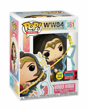Funko Pop! - Wonder Woman - Ww84 - #361 - Nycc - Glow In The Dark - In Hand