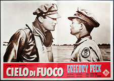 TWELVE O'CLOCK HIGH orignal movie poster GREGORY PECK, h. king ITALIAN RELEASE