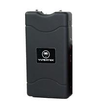 Vipertek Stun Gun Self Defense Black 330bv With Led Flashlight Case
