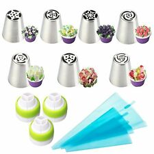 Russian Tulip Flower Cake Icing Piping Nozzles Decorating Tips Baking Tools set