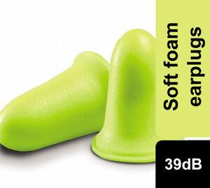 3M EAR Soft FX High Performance Foam Ear plugs SNR39dB Ear Plugs