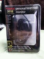 Timex Personal Trainer Heart Rate Monitor Watch Black 1440 IOB