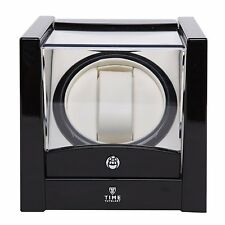 Carica Orologi Automatici Singolo Time Tutelary Watch Winder BLACK One Stand