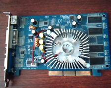 AGP card GeForce 6200A D128M BFGR6200OC DVI VGA TV