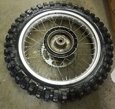 HONDA VINTAGE CR 250 R AHRMA OEM Rear Rim w/ Tire & Sprocket #36B108M