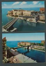 TARANTO Swing Bridge Aragonese Castle   unused  postcards.   ab34
