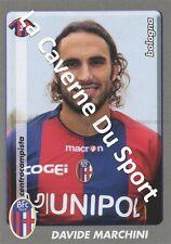 N°036 DAVIDE MARCHINI # ITALIA BOLOGNA.FC STICKER PANINI CALCIATORI 2009