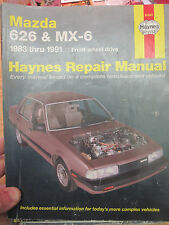 Mazda 626 and Mx-6 Four Wheel Drive, 1983-1992 by John Harold Haynes and...