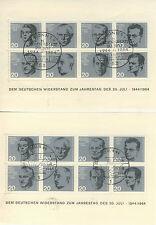2 x Block 3 Widerstandskämpfer 1 x SSt. Bonn, 1 x SSt. Berlin ! rar! (B01240)