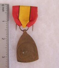 Belgium WW I Commemorative Medal