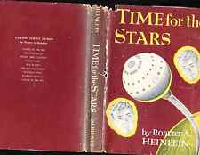 ROBERT HEINLEIN. TIME FOR THE STARS. FIRST EDITON. HARDCOVER IN JACKET