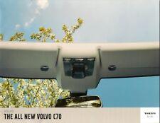Volvo C70 2005-06 UK Market Preview Sales Brochure 2.4i & T5