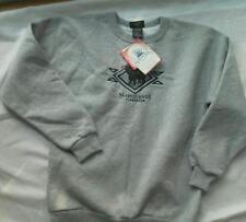 Ladies Marshlands Canada SWEATSHIRT Black Bear Thick Soft Gray S/P Shirt S NEW