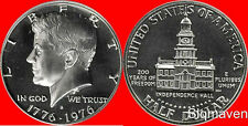 1976 S Clad Kennedy Half Dollar Deep Cameo Gem Proof