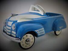 Blue Pedal Car 1950s 88 Oldsmobile Olds Custom Hot Rod Classic Midget Show Model