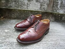 JOSEPH CHEANEY BROGUES – BROWN / TAN  – UK 8 – TEDDER – EXCELLENT CONDITION