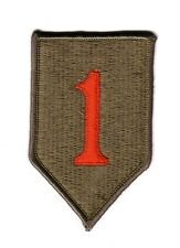 1st INFANTRY DIVISION (Fabrication Actuelle)