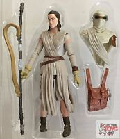 "REY 'JAKKU' Black Series FORCE AWAKENS Star Wars 2016 3.75"" Inch LOOSE FIGURE"