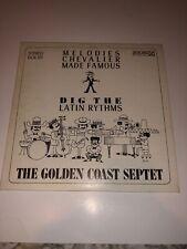 The Golden Coast Septet Dig The Rhythms Very Rare Vinyl LP Record