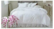Simply Shabby Shic White Crochet Trim Comforter set Twin Size New Fast Shipping!