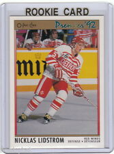 RC~NICKLAS LIDSTROM 1991-92 OPC/O-Pee-Chee Premier ROOKIE CARD~91~STANLEY CUP~AS
