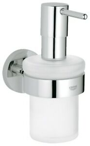 Grohe 40 448 Chrome Essentials Wall Mounted Soap Dispenser