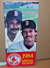 1984 Boston Red Sox Media Guide Jim Rice/Wade Boggs On Cover