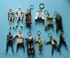 STAR WARS FIGURES AND KEY CHAIN LOT