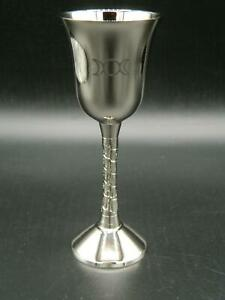 Triple Moon Goblet/Nickle-Plated/Pagan/Witch/Wicca/Witchcraft/Altar /Chalice