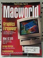 VINTAGE APRIL 1994 Macworld Magazine Macintosh APPLE COLLECTIBLE