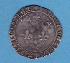 (MD.30)   MONNAIE ROYALE LOUIS XI GROS DU ROI 31/12/1461 (TTB)