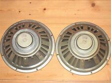"2x Seeburg - 12"" Jukebox Front-Lautsprecher / Speaker No. 35391-3 / 328752"