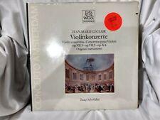 Jean-Marie LeClair Violinkonzerte Jaap Schroder Telefunken 6.42180 New 1978