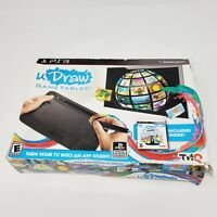 UDraw Tablet  PS3 Playstation 3 Tablet and Box Only Box Damage No Game