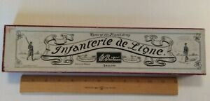 Britains Lead Soldiers, Fred Whisstock Box From 1920's, Infanterie De Ligne 141