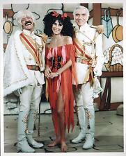 "SONNY and CHER PHOTO with BONANZA'S LORNE GREENE PHOTO 10"" x 8"" (20cms x 30cms)"