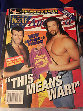 Wrestle America Fall 1996 Back Issue Nash Hall Shawn Michaels Mini Issue inside