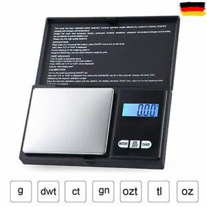 200g Mini Digital Waage 0.01g Feinwaage Taschenwaage Goldwaage Juwelierwaage