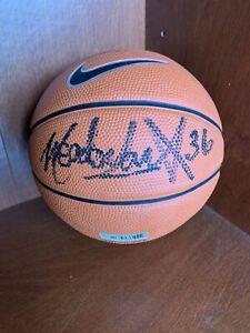 Meadowlark Lemon Signed Autographed Miniature Nike Basketball