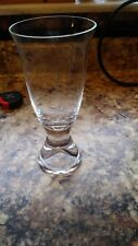"""Pilsner Type Glass with Footed Base 7"""" Bin 1116"""