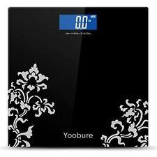 Yoobure Digital Body Weight Scale With Step-On Technology, High Precision 6mm