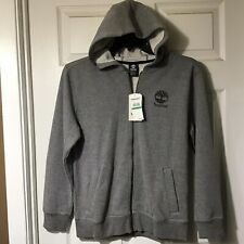 Timberland Boys Long Sleeve Zip Front Hooded Jacket, Size Large, 14-16, New $45