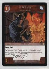 2007 VS System DC Legends Booster Pack Base #DCL-172 Felix Faust Gaming Card q0l